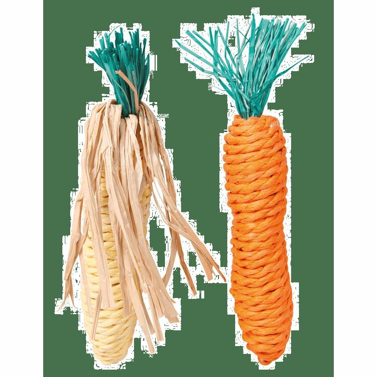 Sisal Gulerot og maiskolbe
