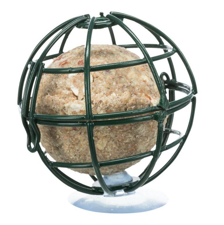 Vindusholder med sugekopp til store meiseboller